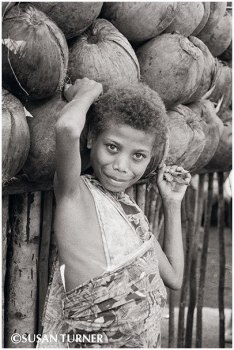 A Girl from East New Britain
