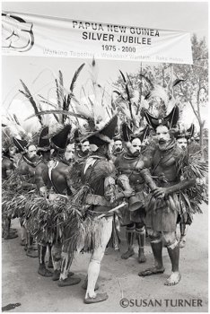 Papua New Guinea's Silver Jubilee