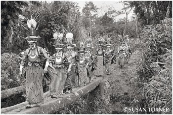 A Dance Group from the Western Highlands
