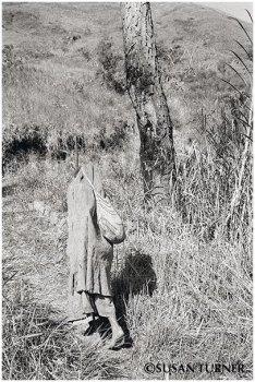 An Anga Woman with a Barkcloth Cape