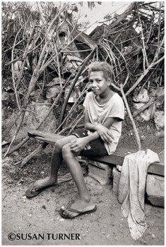 A Girl from Morata Settlement