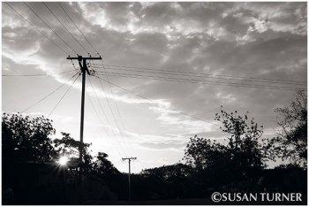 Evening Sky Over Lobu Street