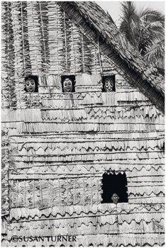Haus Tambaran with Faces