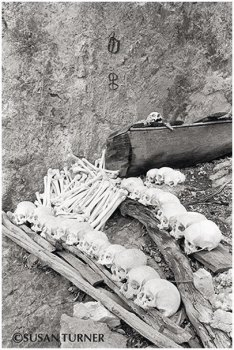 Ossuary at Lake Kutubu
