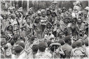 Women Mourning a Clansman Killed in Tribal Warfare