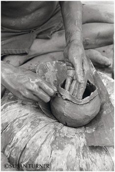 A Small Clay Pot